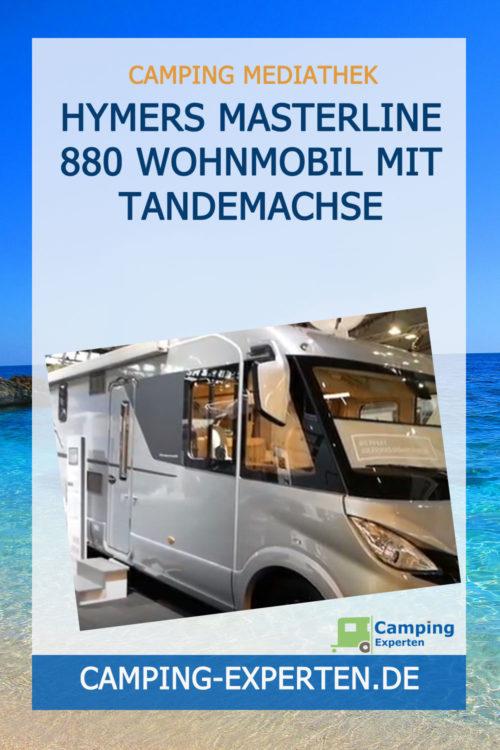 Hymers Masterline 880 Wohnmobil mit Tandemachse