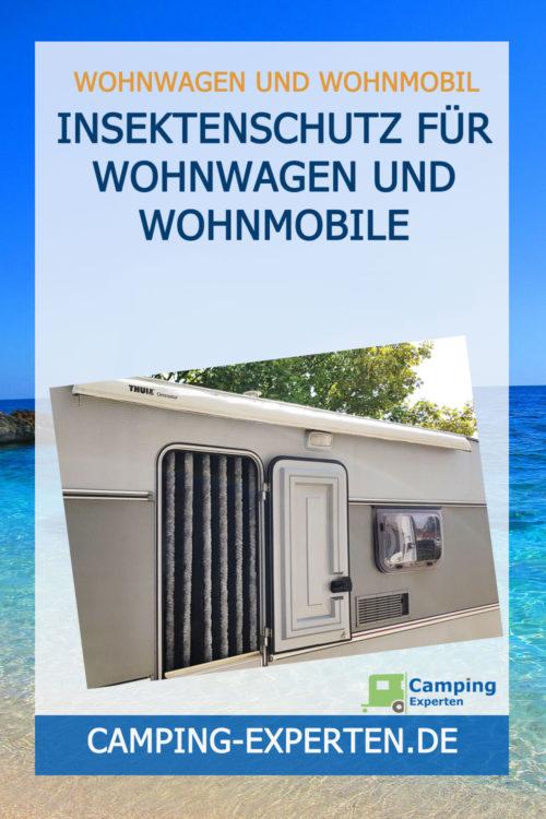 Insektenschutz für Wohnwagen und Wohnmobile
