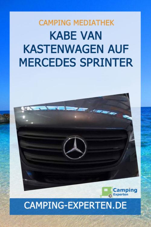 KABE Van Kastenwagen auf Mercedes Sprinter