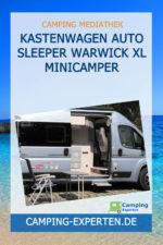 Kastenwagen Auto Sleeper WARWICK XL Minicamper