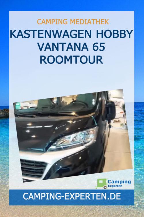 Kastenwagen Hobby Vantana 65 Roomtour
