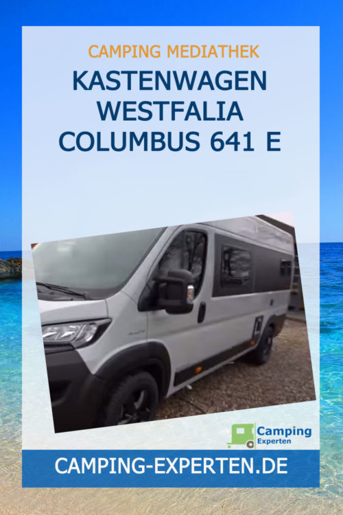 Kastenwagen Westfalia Columbus 641 E