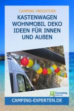 Kastenwagen Wohnmobil Deko Ideen für innen und außen