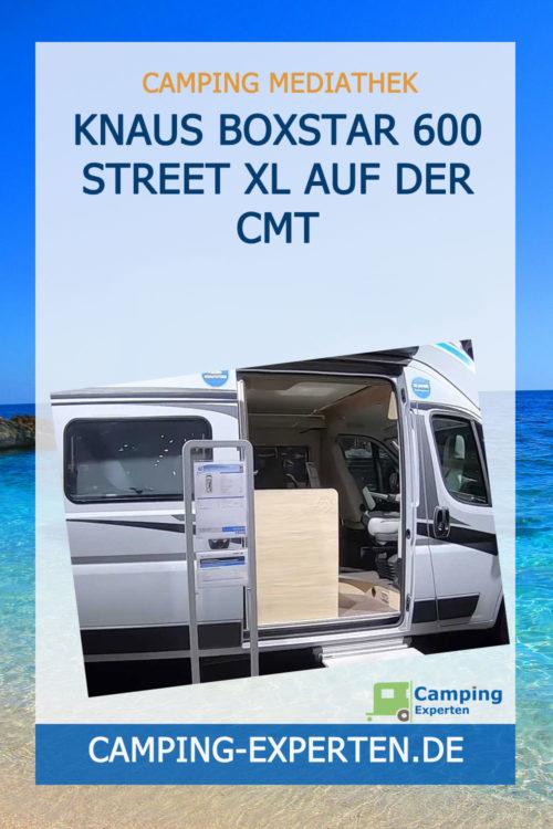 Knaus Boxstar 600 Street XL auf der CMT
