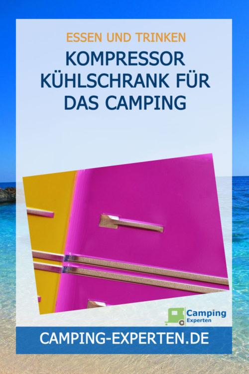 Kompressor Kühlschrank für das Camping