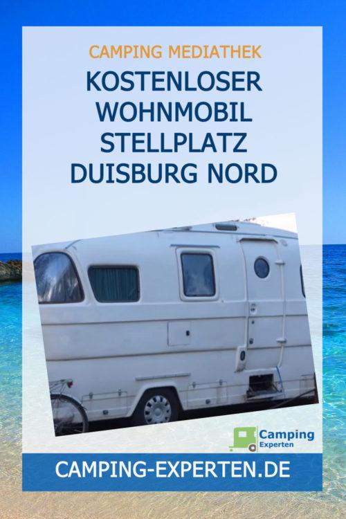 Kostenloser Wohnmobil Stellplatz Duisburg Nord