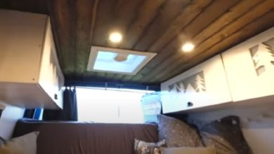 Photo of Ford Transit DIY Campervan für 7000€ – Low-Budget Kastenwagen – Roomtour