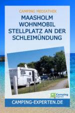 Maasholm Wohnmobil Stellplatz an der Schleimündung