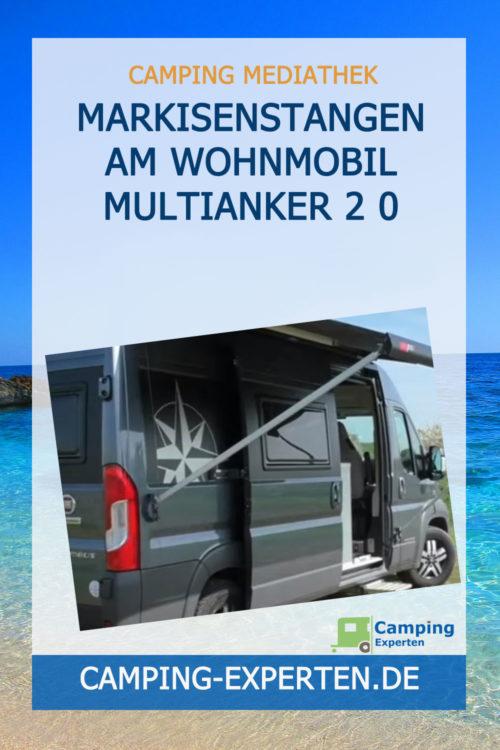 Markisenstangen am Wohnmobil MULTIANKER 2 0