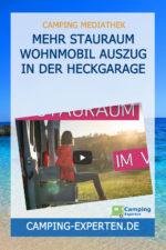 Mehr Stauraum Wohnmobil Auszug in der Heckgarage