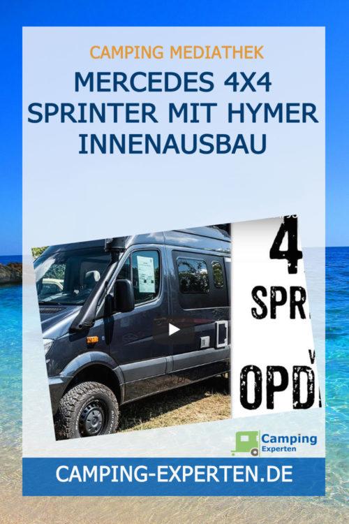 Mercedes 4x4 Sprinter mit Hymer Innenausbau