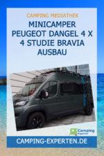 Minicamper Peugeot Dangel 4 x 4 Studie Bravia Ausbau