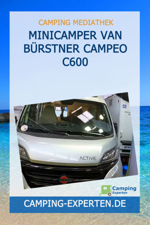Minicamper Van Bürstner Campeo C600