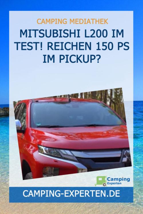 Mitsubishi L200 im Test! Reichen 150 PS im PICKUP?