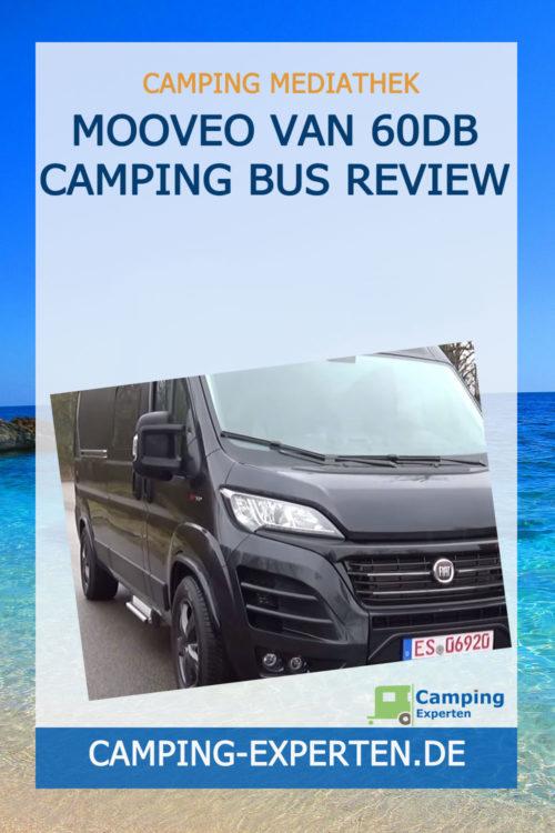 Mooveo Van 60DB Camping Bus Review