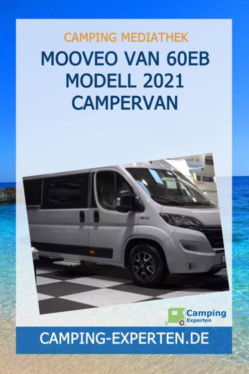 Mooveo Van 60EB Modell 2021 Campervan