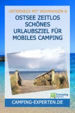Ostsee zeitlos schönes Urlaubsziel für mobiles Camping