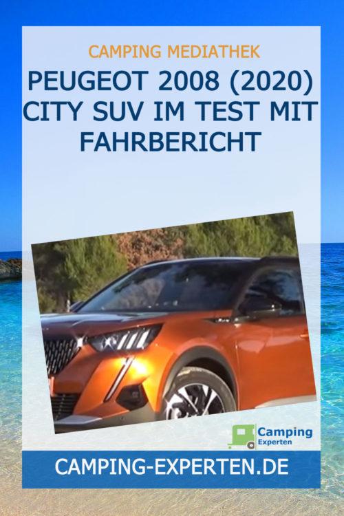 Peugeot 2008 (2020) City SUV im Test mit Fahrbericht