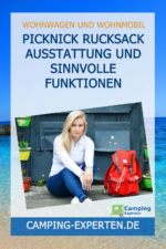 Picknick Rucksack Ausstattung und sinnvolle Funktionen