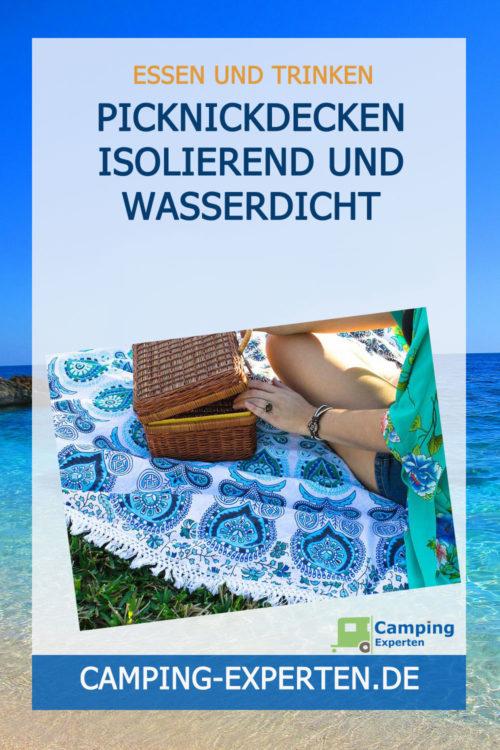 Picknickdecken isolierend und wasserdicht