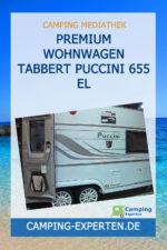 Premium Wohnwagen Tabbert Puccini 655 EL