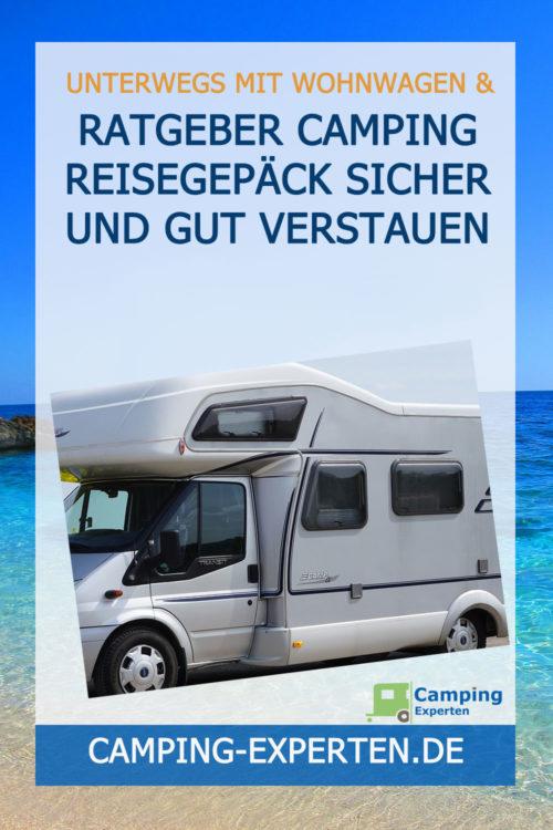 Ratgeber Camping Reisegepäck sicher und gut verstauen