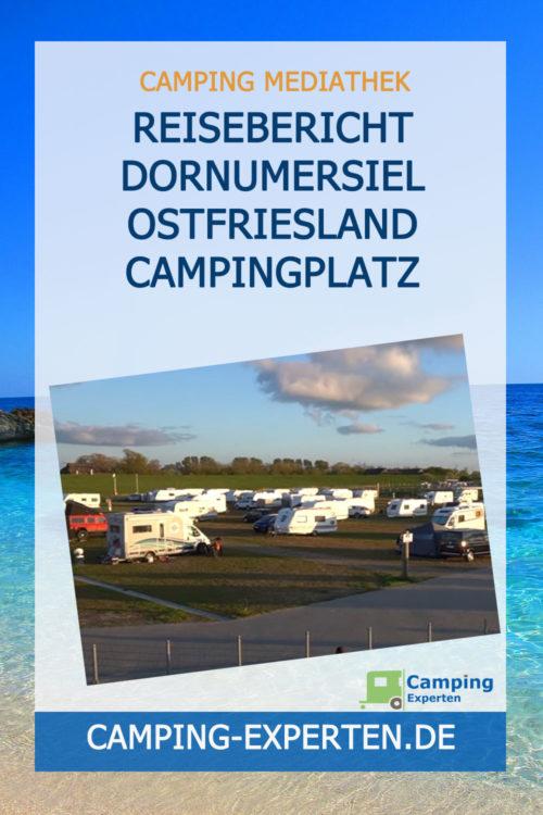 Reisebericht Dornumersiel Ostfriesland Campingplatz