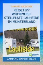 Reisetipp Wohnmobil Stellplatz Lauheide im Münsterland