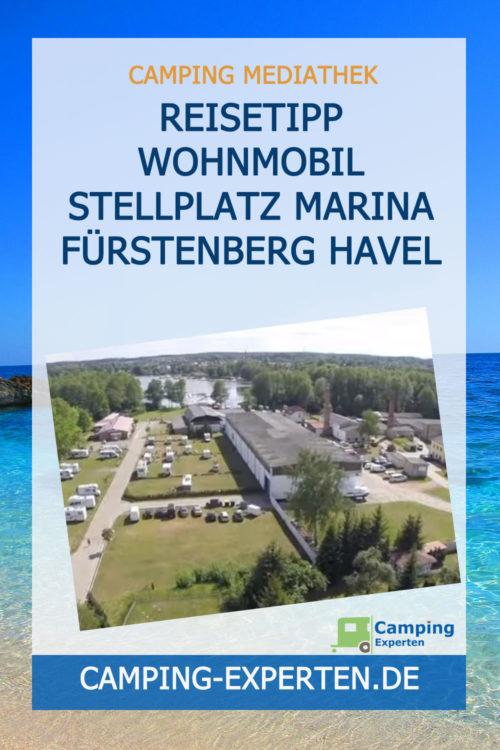 Reisetipp Wohnmobil Stellplatz Marina Fürstenberg Havel