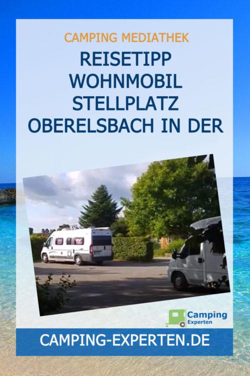 Reisetipp Wohnmobil Stellplatz Oberelsbach in der Rhön
