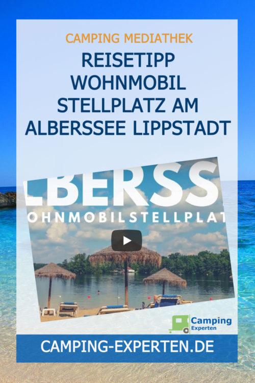 Reisetipp Wohnmobil Stellplatz am Alberssee Lippstadt