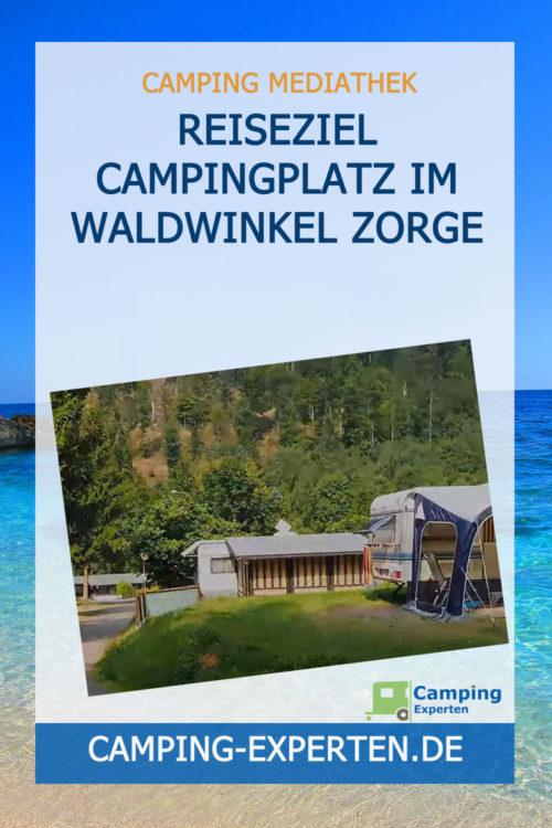 Reiseziel Campingplatz im Waldwinkel Zorge