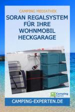 SORAN Regalsystem für Ihre Wohnmobil Heckgarage