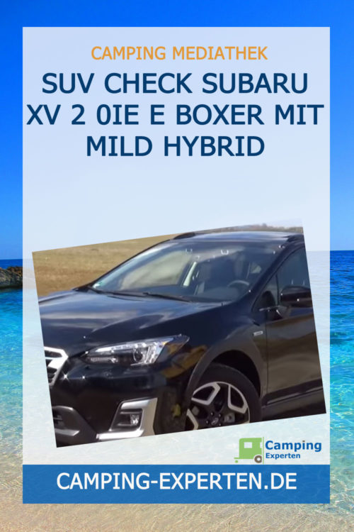 SUV Check Subaru XV 2 0ie e Boxer mit Mild Hybrid