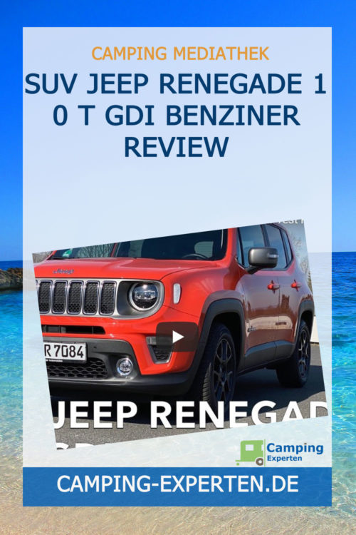 SUV Jeep Renegade 1 0 T GDI Benziner Review
