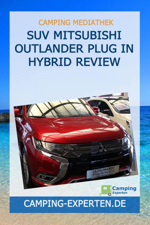 SUV Mitsubishi Outlander Plug In Hybrid Review
