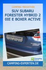 SUV SUBARU FORESTER Hybrid 2 0ie E Boxer Active