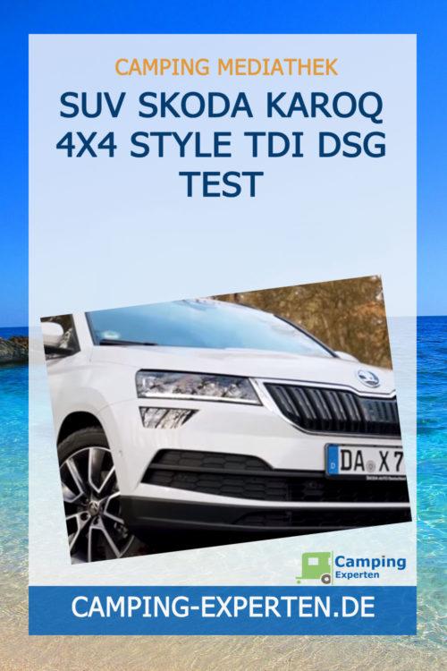 SUV Skoda Karoq 4x4 Style TDI DSG Test