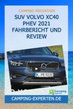 SUV Volvo XC40 PHEV 2021 Fahrbericht und Review