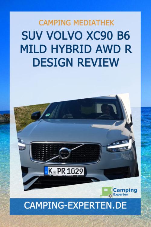 SUV Volvo XC90 B6 Mild Hybrid AWD R Design Review