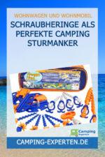 Schraubheringe als perfekte Camping Sturmanker