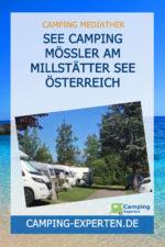 See Camping Mössler am Millstätter See Österreich