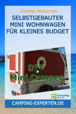 Selbstgebauter Mini Wohnwagen für kleines Budget