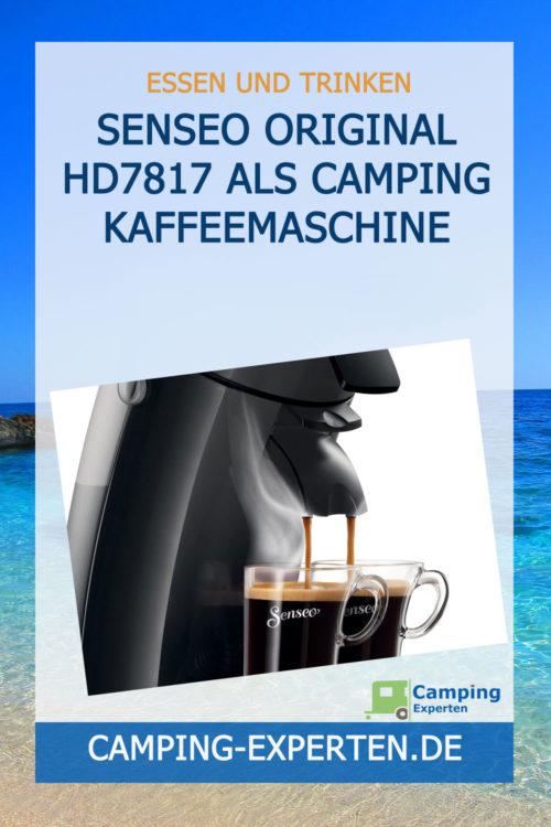 Senseo Original HD7817 als Camping Kaffeemaschine