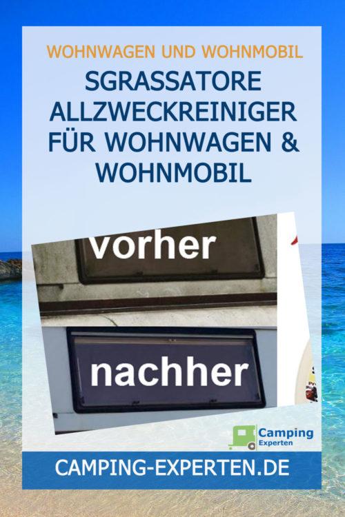 Sgrassatore Allzweckreiniger für Wohnwagen & Wohnmobil