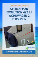 Sterckeman Evolution 492 LJ Wohnwagen 2 Personen