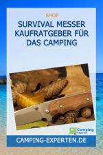 Survival Messer Kaufratgeber für das Camping