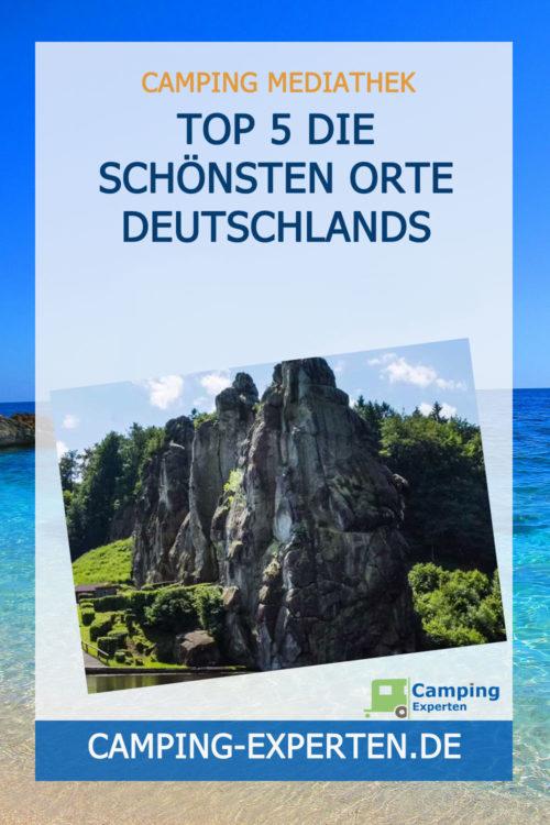 TOP 5 Die schönsten Orte Deutschlands