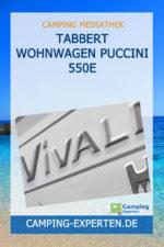 Tabbert Wohnwagen Puccini 550E