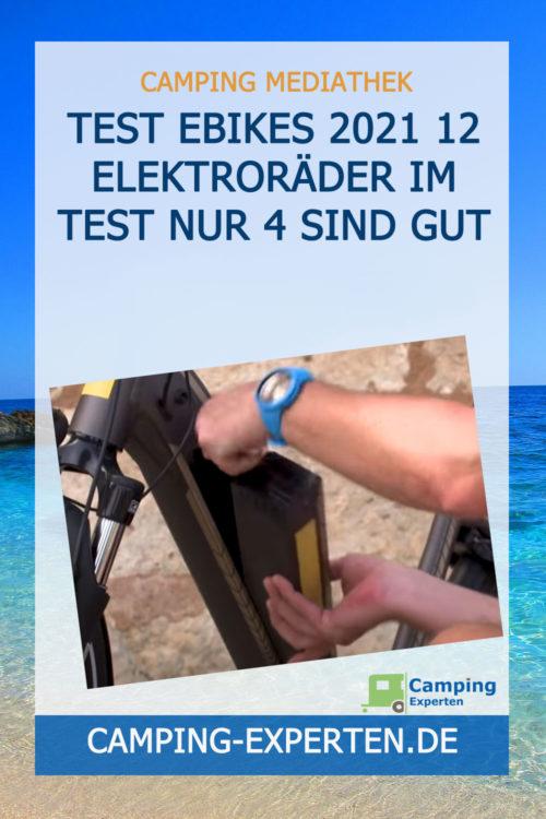 Test EBikes 2021 12 Elektroräder im Test nur 4 sind gut